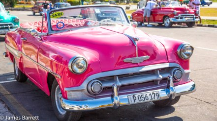 Most refurbished American cars were converted to diesel engines and have parts from a variety of cars.